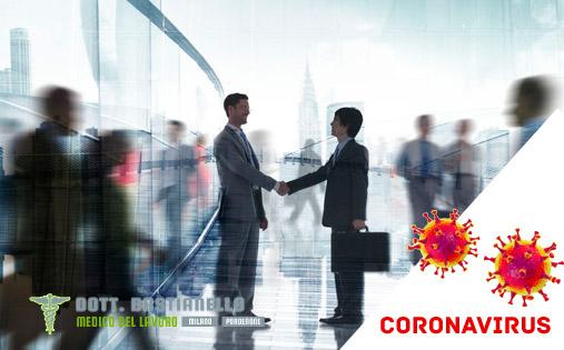 medicina del lavoro e corona virus